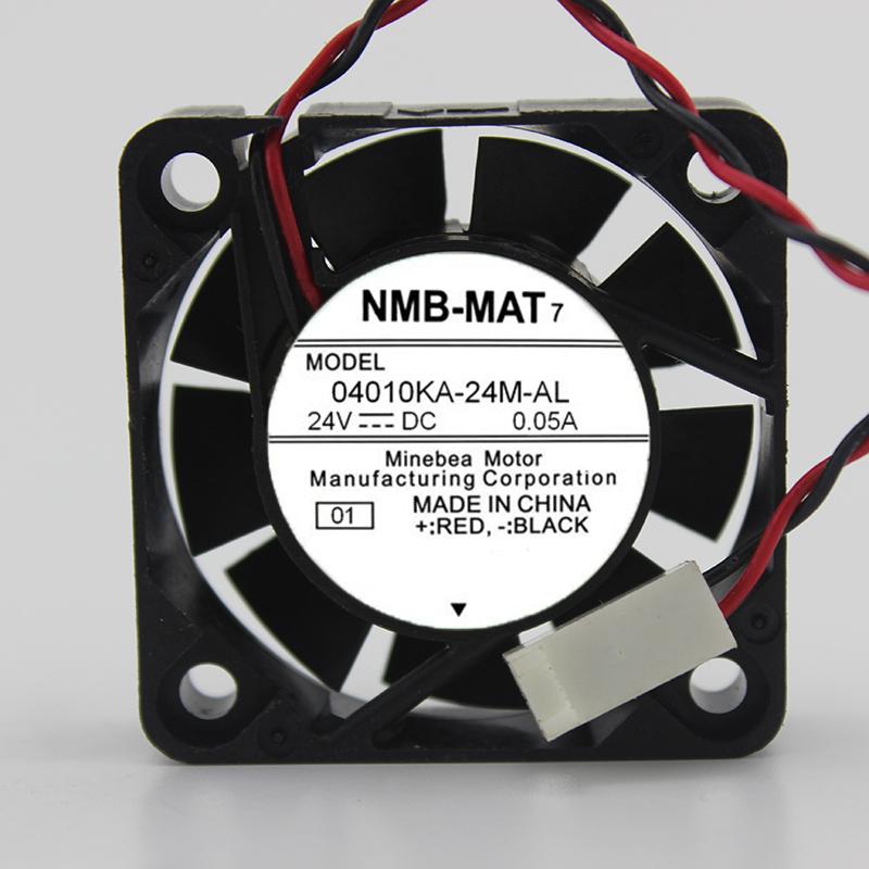 NMB-MAT7 04010KA-24M-AL 24V 0.05A 3-wire 4CM cooling fan