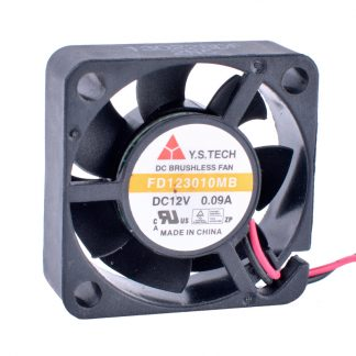 Y.S.TECH FD123010MB 12V 0.09A 3cm Cooling Fan