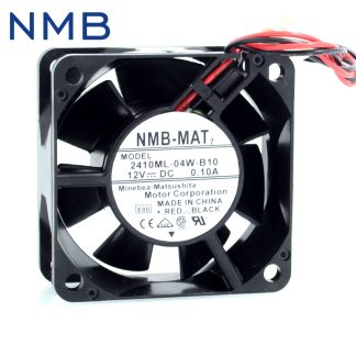 NMB-MAT7 2410ML-04W-B10 6025 6CM 12V 0.10A dual ball bearing silent Cooling fan