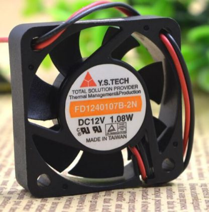 Y.S.TECH FD1240107B-2N authentic 4CM 40*40*10 1.08W 2 wire cooling fan
