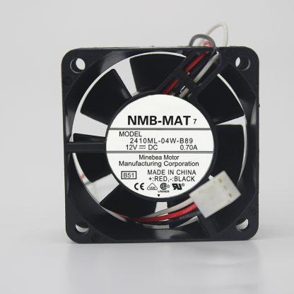 NMB-MAT 2410ML-04W-B70 B79 B86 B89 6CM cm 6025 cooling fan 12V