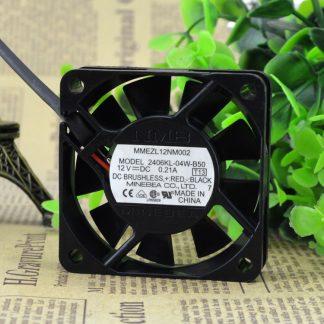 NMB 2406KL-04W-B36 dual ball bearing cooling fan 12V 0.14A 60*60*15mm