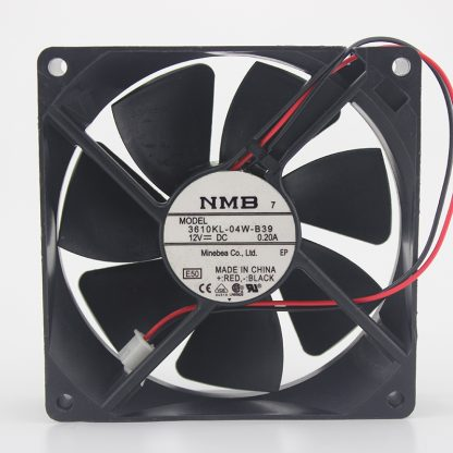 NMB-MAT 3610KL-04W-B39 0.A large air volume machine cooling fan 12V 9cm