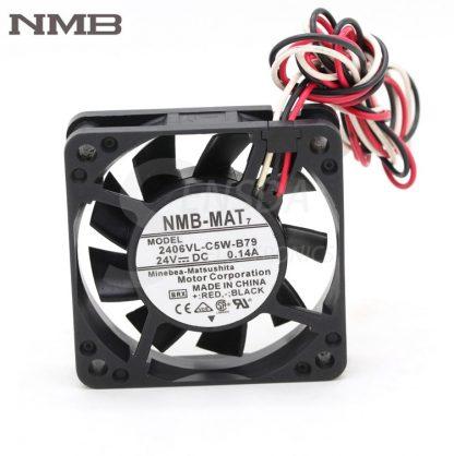 NMB 2406VL-C5W-B79 6015 60mm 6cm DC 24V 0.14A cooling fan