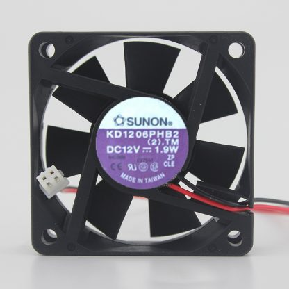 SUNON KD1206PHB2 DC12V 1.9W axia cooling fan