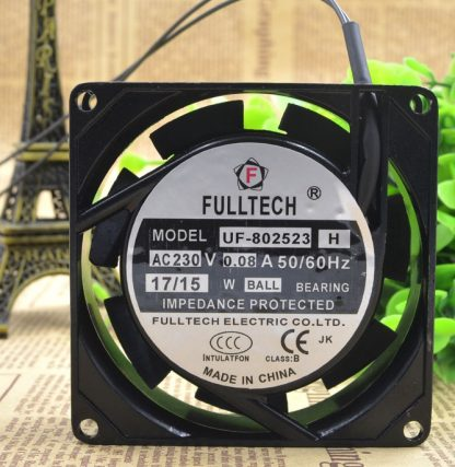 FULLTECH UF-802523H AC230V 0.08A 50/60Hz 17/15  cooling fan