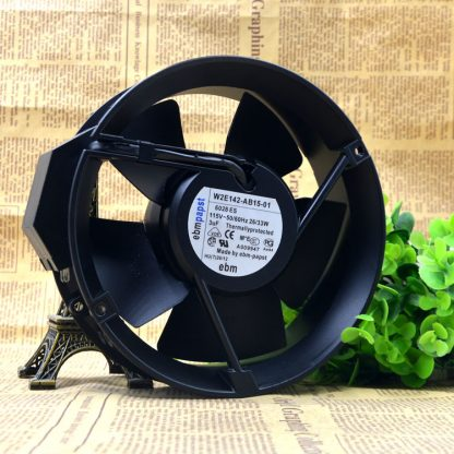 Ebmpapst W2E142-AB15-01 230V 0.12A high temperature resistant cooling fan