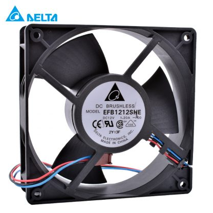 Delta EFB1212SHE 12V 1.2A 138 12CM Chassis Server Cooling Fan