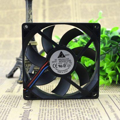 Delta AFB0912HD -F00 DC 12V 0.24A 90X90Xmm 3-wire Server Square Fan
