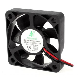 FONSONING FSY50S12H 50mm x 10mm 2Pin 12V DC Brushless PC Case Cooling Fan