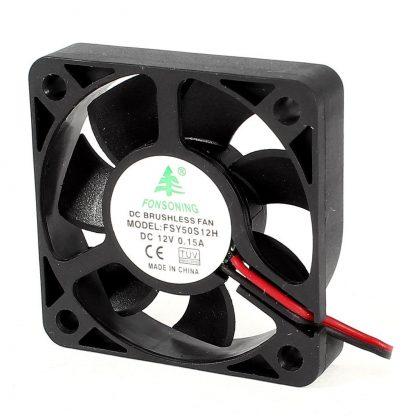 FONSONING FSY50S12H 50mm x 10mm 2Pin 12V DC Brushless PC Case Cooling Fan