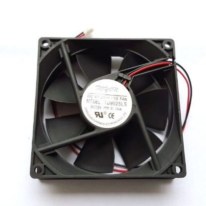 New original TD9025LS 2pcs/lot  2PIN 12V 0.16A 9CM 90*90*25MM Hydraulic quiet cooling fan