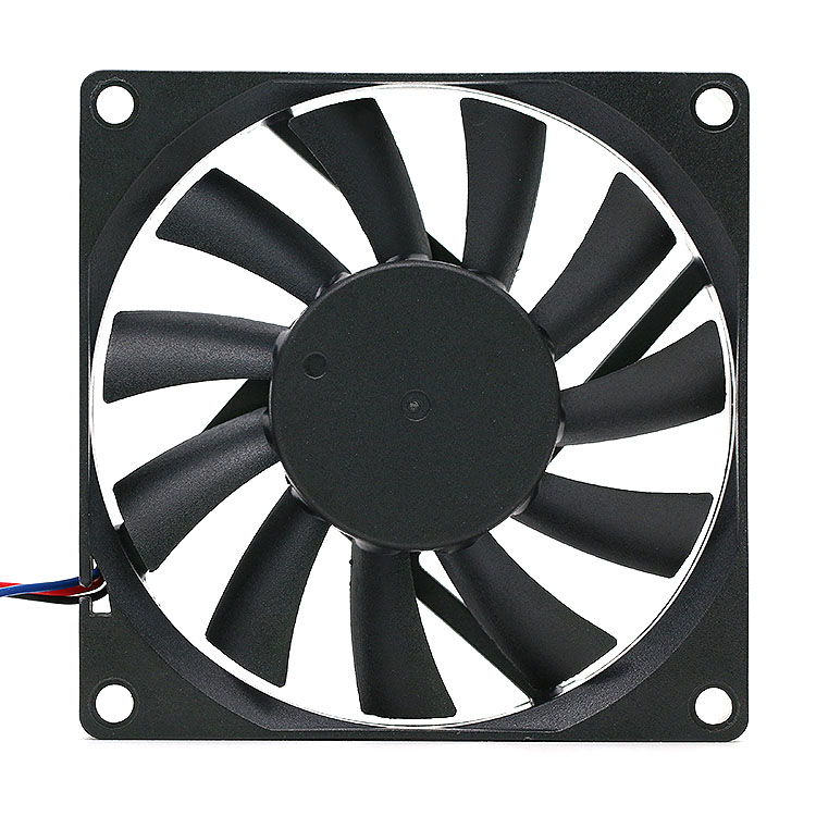 Delta AFB0812SHB 80*80*15mm 12V 0.40A 3Wire Computer Cooler Cooling Fan