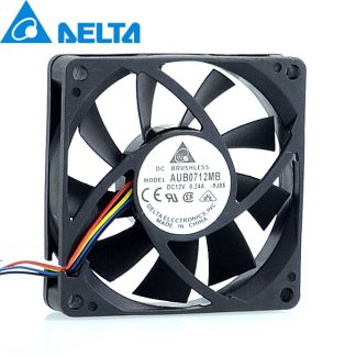 Delta AUB0712MB 12V 0.24A 7cm 4 -pin PWM CPU cooling fan