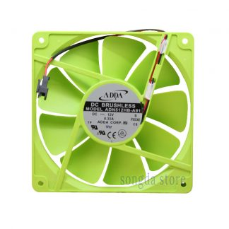 New ADDA ADN512HB-A91 135*135*25mm 13525 13.5cm DC 12V dual ball bearing cooling fan