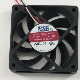 AVC DE07015R12U DC 12V 0.7A 7CM 70*70*15mm 4 Wires Cooling Fan
