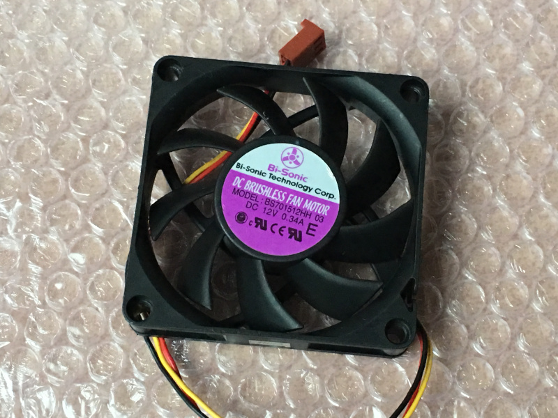Bi-Sonic BS701512HH 7CM12V 0.34A 3-проводной вентилятор BP701512L