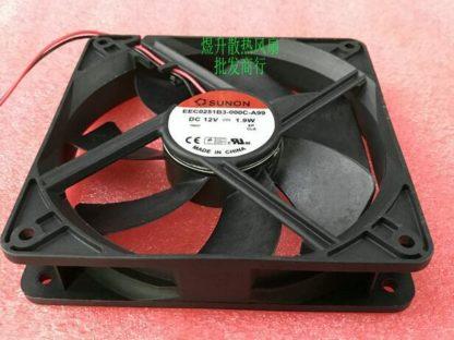 SUNON EEC0251B3-000C-A99 DC12V 1.9W 2-line Mute Cooling Fan