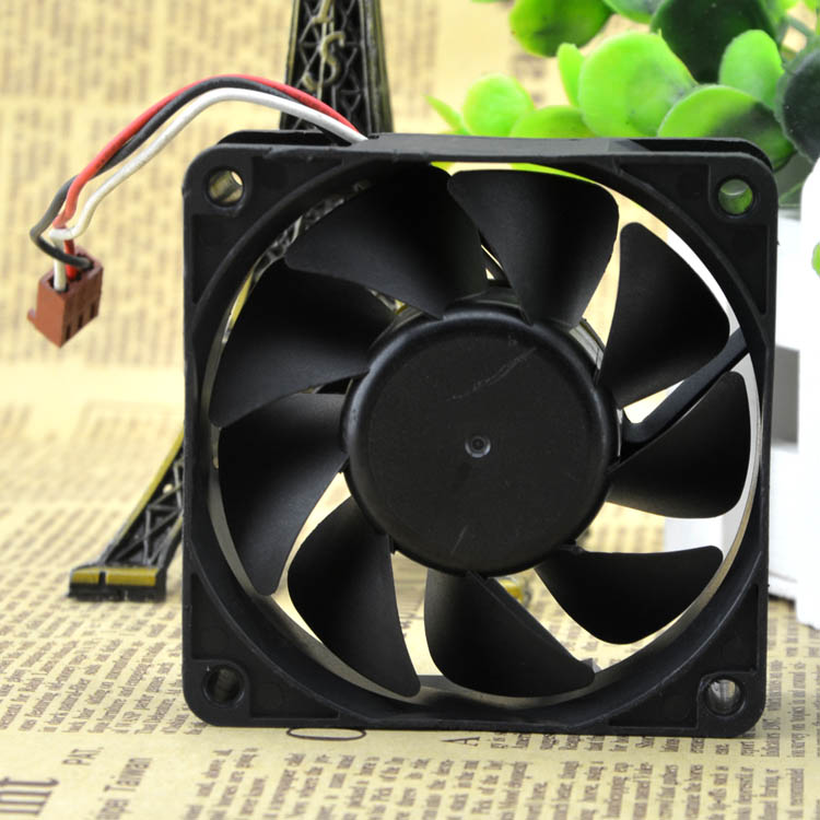 AVC F7025B12MY 7CM 12V 0.35A 3 wire Double ball bearing cooling fan