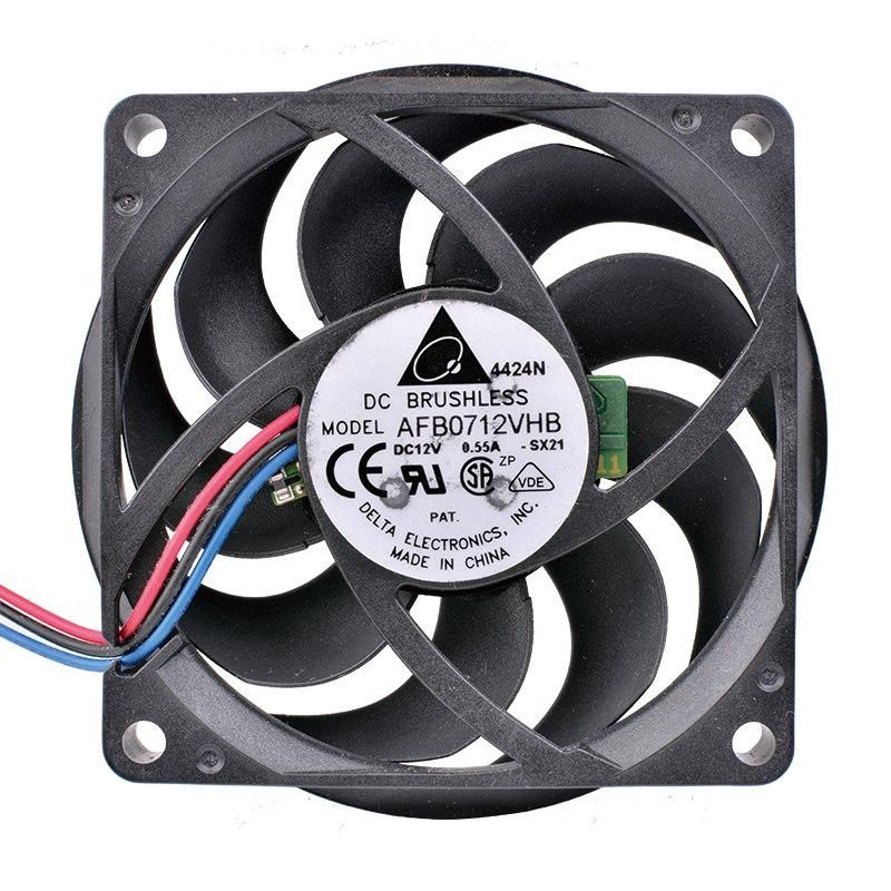 Delta AFB0712VHB 12V 0.55A CPU cooling fan
