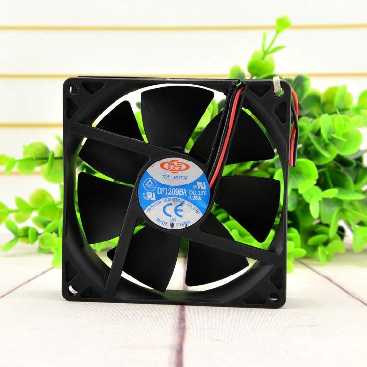 TOP MOTOR DF19BA 12V 0.25A double ball cooling fan