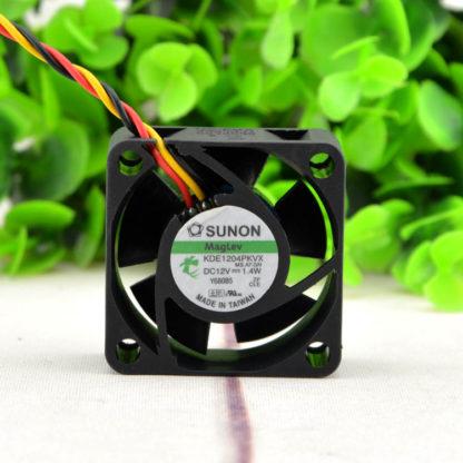 SUNON KDE14PKVX-A DC12V 1.4W router cooling fan