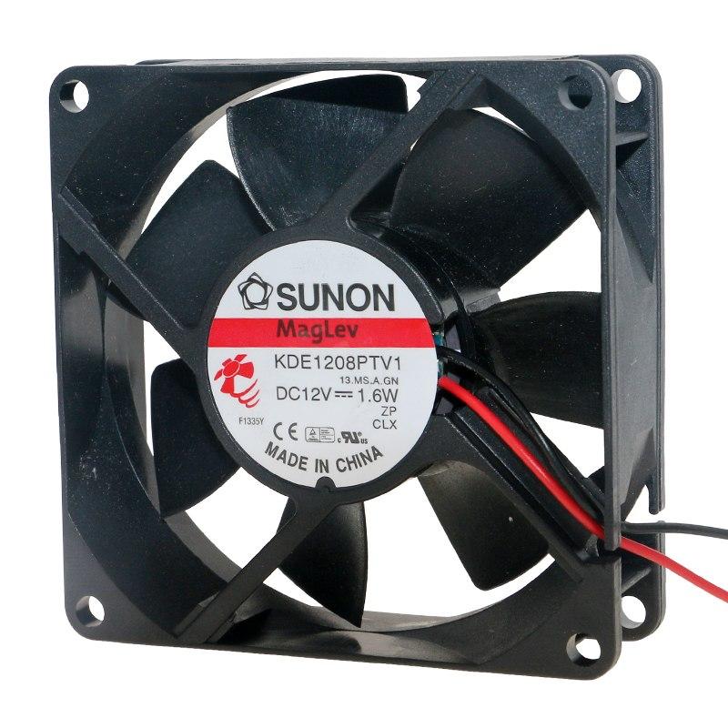 SUNON KDE18PTV1 DC12V 1.6W Тихий вентилятор охлаждения