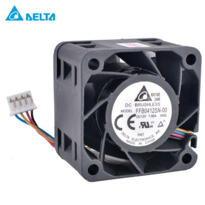 DELTA FFB0412SN-00 12V 1.50A double ball cooling fan