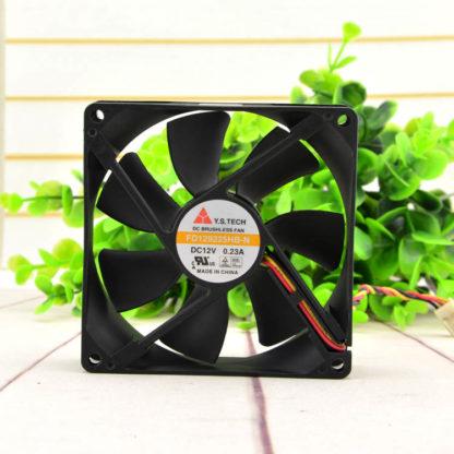 Y.S.TECH FD129225HB-N 12V 0.23A  2-wire cooling fan