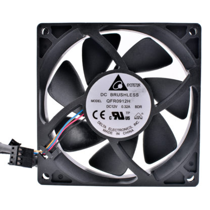 Delta QFR0912H DC12V 0.32A FX8350 4-wire CPU cooling fan