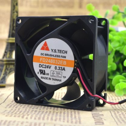 Y.S.TECH FD248032EB 24v 0.33A cooling fan by the server