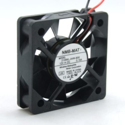 NMB 2106KL-04W-B50 12VDC 0.18A small chassis cooling fan