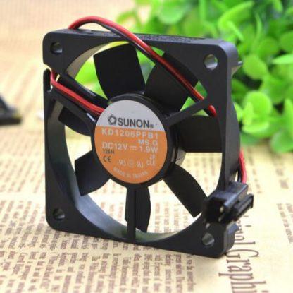 SUNON KD16PFB1 12V 1.9W ultra thin ball cooling fan