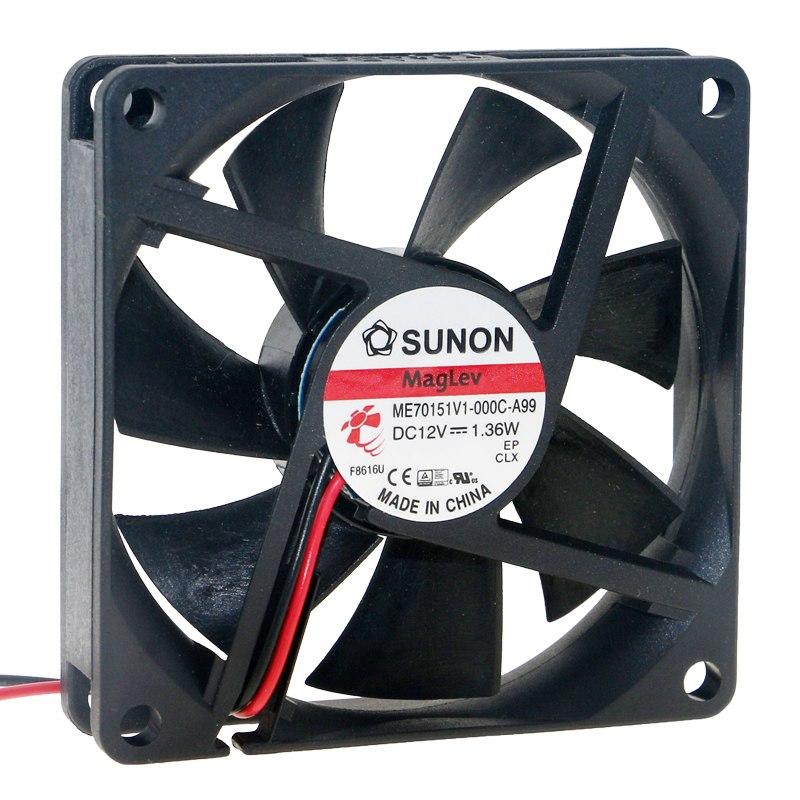 SUNON ME70151V1-000C-A99 DC12V 1.36W ventilador de refrigeración
