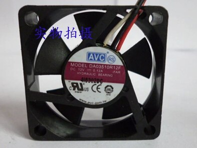 AVC DA03510R12F 12V 0.12A 3 line oil cooling fan