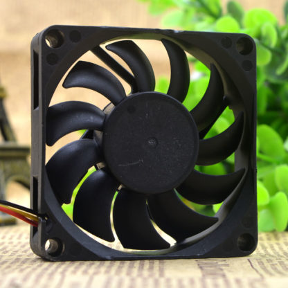 Y.S.TECH FD1270153B-1F 12V 1.56W 3-wire CPU cooling fan