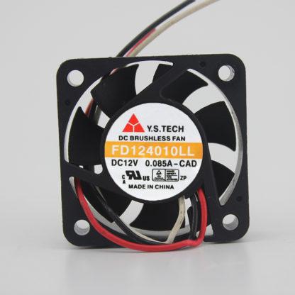 Y.S.TECH FD124010LL 12V 0.085A 4CM Fan Ultra Silent Silent Fan