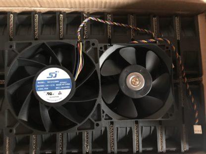 SJ SG121238BS DC 12V 2.7A S7 S9 T9 L3 Server Square Fan violence Fan