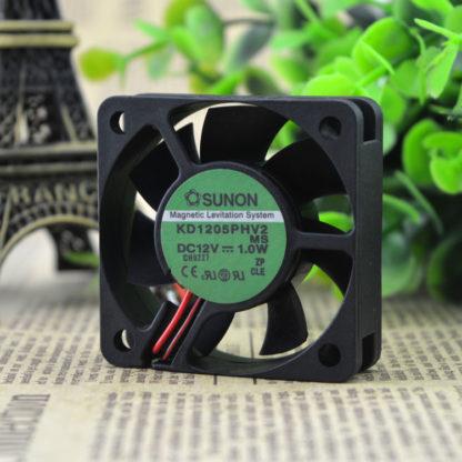 SUNON KD15PHV2 DC12V 1.0W 5cm 3wire silence cooling fan