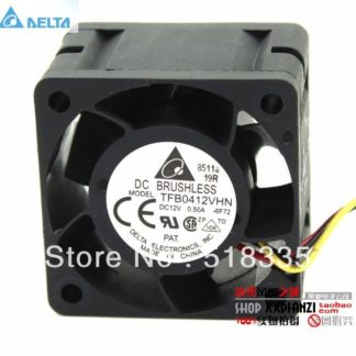 Delta TFB0412VHN 12V 0.5A wind capacity dual ball bearing fan