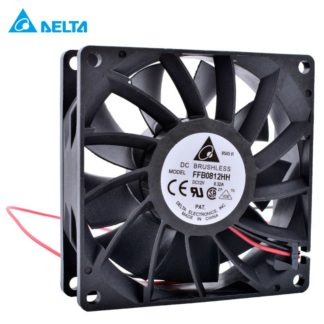 DELTA FFB0812HH DC12V 0.32A Double ball bearing cooling fan