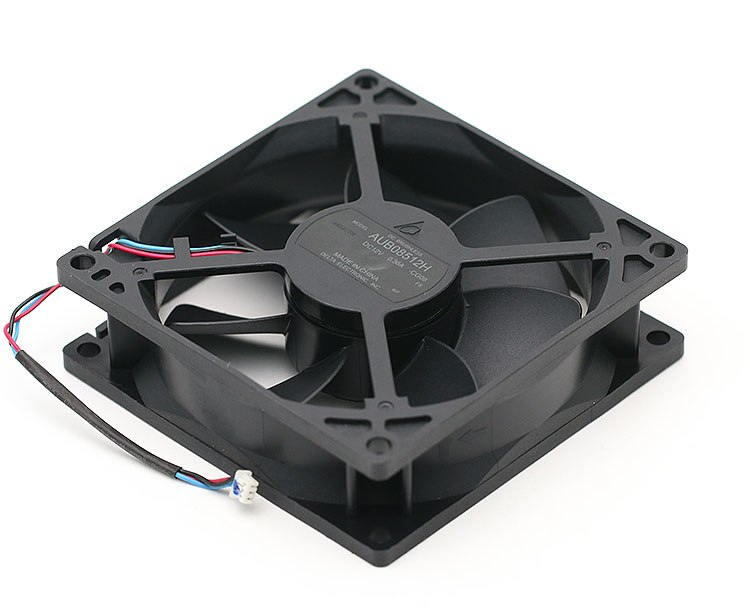 Delta AUB08512H 12V 0.36A 8.5cm three line projector cooling fan