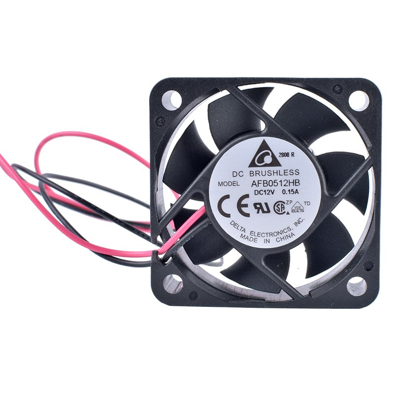DELTA AFB0512HB 5cm 50mm 12V 0.15A Double ball bearing large air volume cooling fan