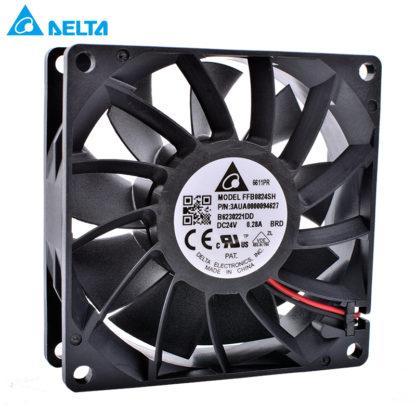 DELTA FFB0824SHBRD 3AUA0000094627 8cm 24V 0.28A cooling fan