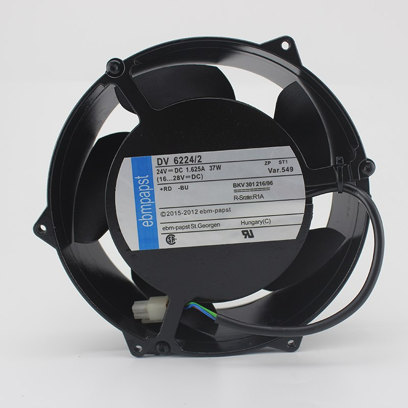 Ebmpapst DV 6244/2 DC 24V 37W Ball Bearing Server Square cooling Fan