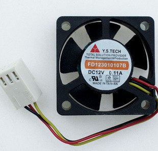Y.S.TECH FD123010107B 3CM 0.11A 5cm cooling fan