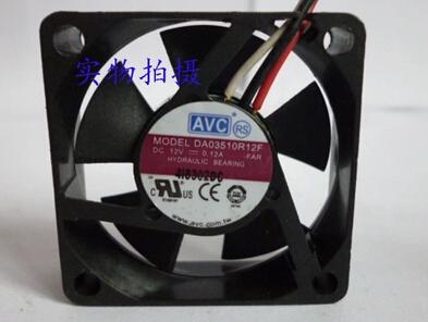 AVC DA03510R12F 12V 0.12A 3 line oil cooling fan