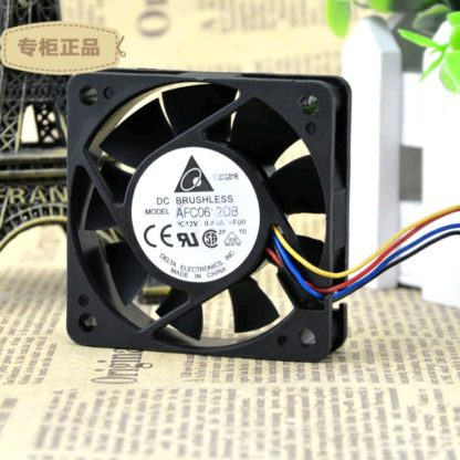 Delta AFC0612DB-F00 home furnishings 12v DC axial cooling fan