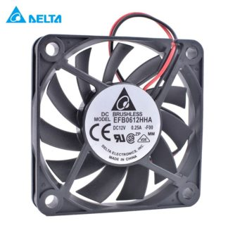 NMB 2410ML-04W-B40 original 6CM 12V 0.22A two-wire double ball bearing fan