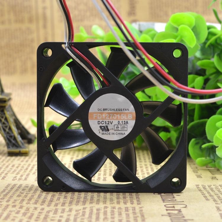 Y.S.TECH FD127015LB 12V 0.13A ventilateur silencieux